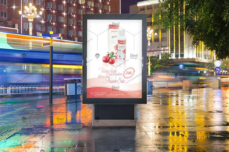 Thiết kế Poster thực phẩm chức năng Công ty TNHH Đào Thạch