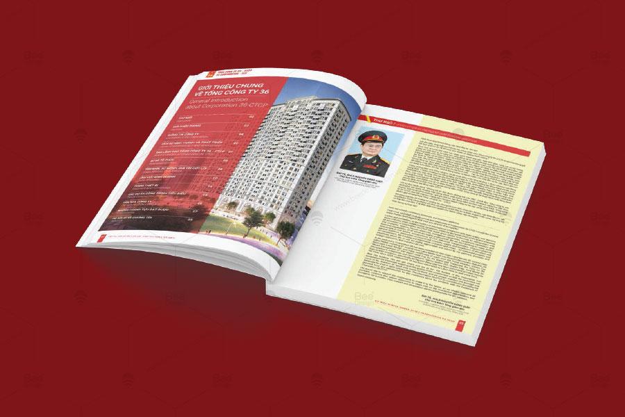 Thiết kế Profile Tổng công ty 36